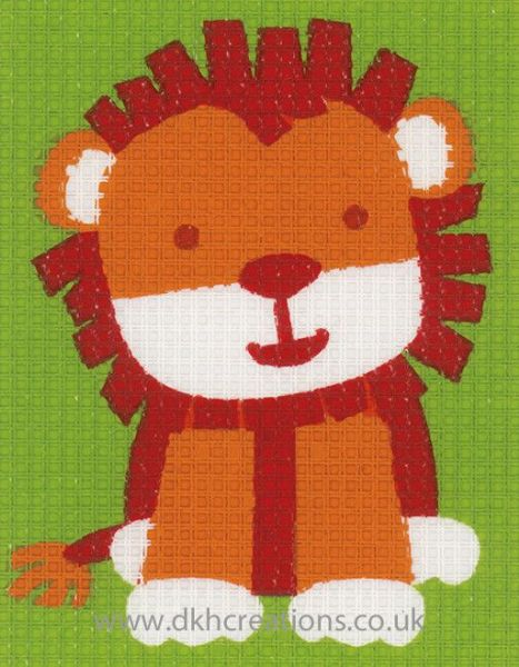 Cute Lion Tapestry Kit